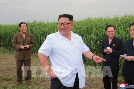 Nhà lãnh đạo Triều Tiên thị sát khu vực giáp giới Trung Quốc