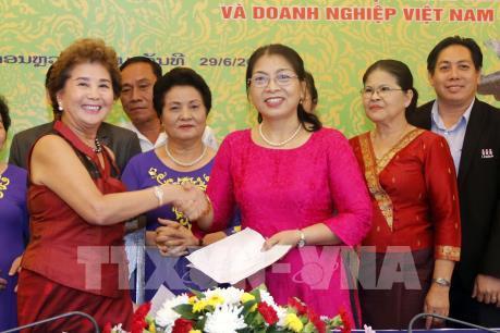 """Hội chợ thương mại Việt – Lào 2018 thúc đẩy """"hữu nghị, hợp tác và phát triển"""""""