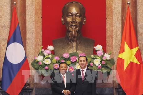Tổng Bí thư, Chủ tịch nước Lào Bun-nhăng Vo-la-chít thăm Việt Nam