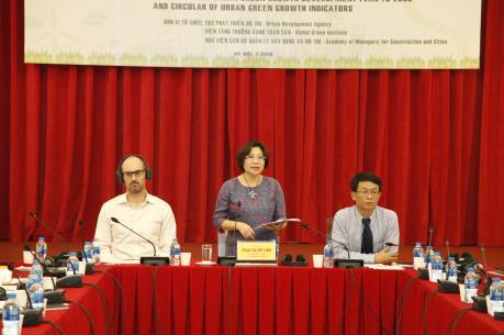Phát triển đô thị tăng trưởng xanh Việt Nam đến năm 2030