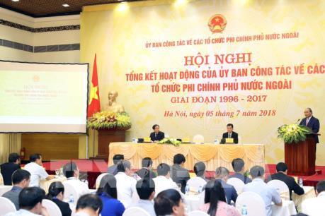 Thủ tướng: Vận động, hợp tác với các tổ chức phi chính phủ nước ngoài