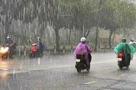 Dự báo thời tiết 4 ngày tới: Bắc Bộ có mưa rào và dông diện rộng
