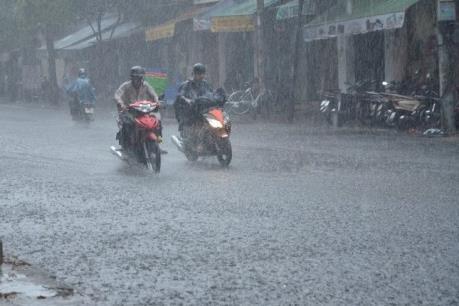 Bắc Bộ, Tây Nguyên và Nam Bộ có khả năng xảy ra tố, lốc, mưa đá và gió giật mạnh