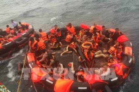 Thái Lan: Đã tìm thấy 13 thi thể nạn nhân vụ chìm tàu ở Phuket