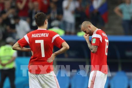 WORLD CUP 2018: Tổng thống V. Putin đánh giá cao ý chí của đội tuyển Nga