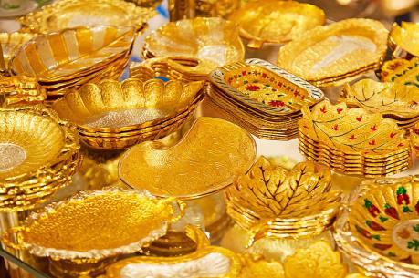 Giá vàng SJC tăng nhẹ theo vàng thế giới