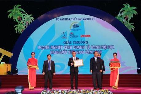 Vietravel tự hào đạt giải thưởng du lịch Việt Nam năm 2018