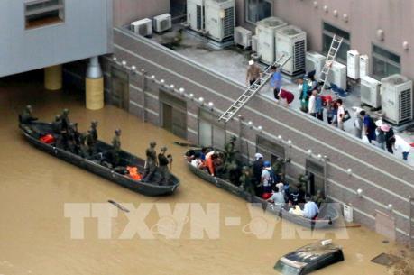 Chính phủ Nhật Bản thúc đẩy các nỗ lực tái thiết sau thảm họa mưa lũ