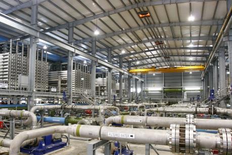 Ngành công nghiệp nước đóng góp 1,84 tỷ USD cho kinh tế Singapore