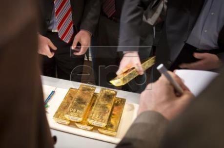 Giá vàng giảm 0.3% trên thị trường châu Á