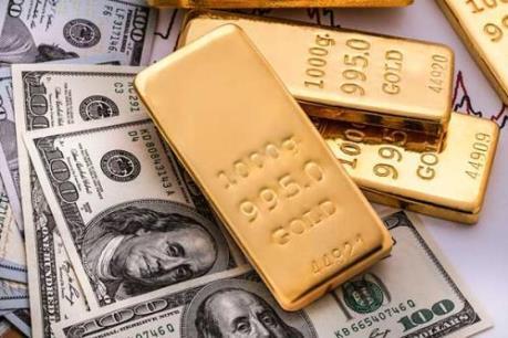 Căng thẳng thương mại Mỹ-Trung leo thang, vàng thế giới vẫn mất giá