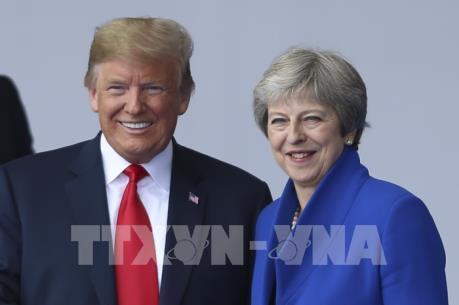 Thủ tướng nước Anh hy vọng sẽ ký FTA với Mỹ trong tương lai
