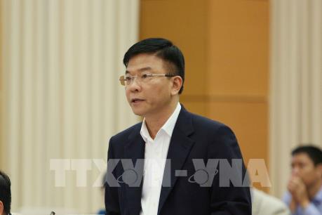 Đoàn công tác của Bộ Tư pháp làm việc với Thường trực Tỉnh ủy Quảng Nam