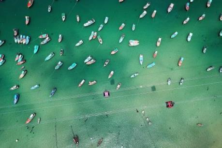Vẻ đẹp mê hồn của Nam Phú Quốc nhìn từ cabin cáp treo Hòn Thơm
