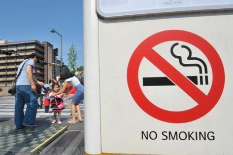 Quốc hội Nhật Bản ban hành luật cấm hút thuốc mới
