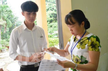Thông tin về nghi vấn điểm thi bất thường trong kỳ thi THPT quốc gia tại Sơn La