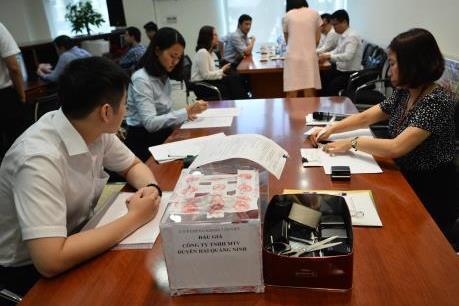 Cổ phần của Công ty TNHH MTV Duyên hải Quảng Ninh đắt khách