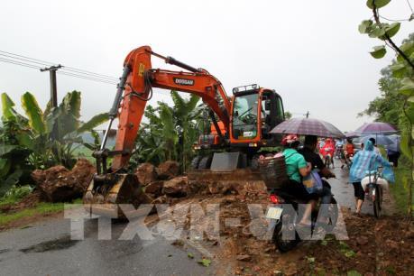Ảnh hưởng của hoàn lưu bão số 3 và mưa lũ gây nhiều thiệt hại