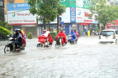 Các tỉnh, thành phố Bắc bộ, Bắc Trung bộ chủ động ứng phó với áp thấp nhiệt đới