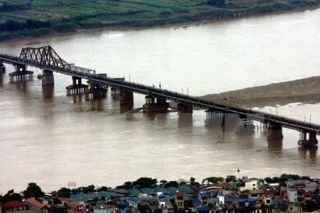 Mực nước sông Hồng tại Hà Nội sẽ lên nhanh