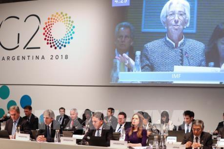 """Đánh thuế nền kinh tế kỹ thuật số lại """"nóng"""" lên tại cuộc họp G20"""