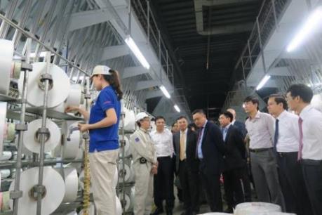 Hoàn tất công tác chuẩn bị vận hành Nhà máy Xơ sợi Đình Vũ