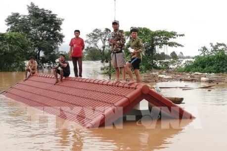 Vỡ đập thủy điện ở Lào: Công tác cứu hộ vẫn gặp khó khăn
