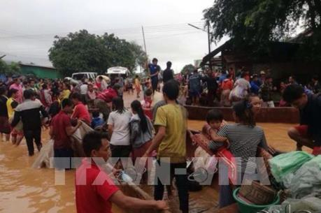 Vỡ đập thủy điện ở Lào: Chính quyền các cấp nỗ lực đẩy nhanh tiến độ cứu hộ