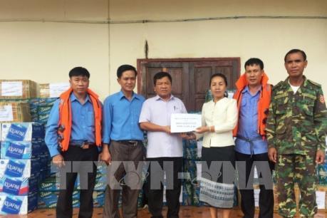 Quân đội Việt Nam giúp nước bạn Lào khắc phục sự cố vỡ đập Thủy điện Xepian - Xe Nam Noy