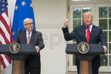Mỹ và EU nhất trí giảm căng thẳng thương mại