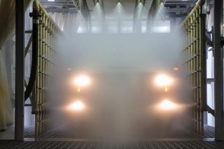 Chevrolet Trailblazer và Colorado với các bài kiểm tra khắc nghiệt với nước