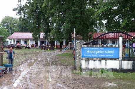 Vỡ đập thủy điện Lào: Khó khăn Sanamxay những ngày sau sự cố