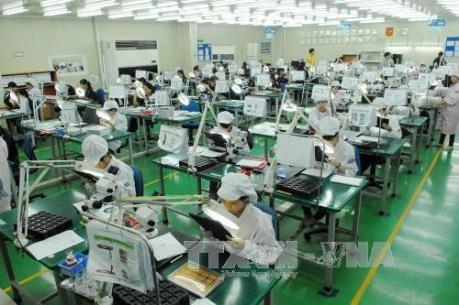 Sản xuất công nghiệp tăng trưởng khá
