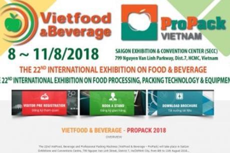 Sắp diễn ra chuỗi Triển lãm quốc tế chuyên ngành thực phẩm, đồ uống