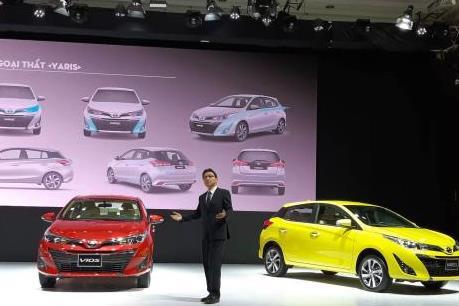 Doanh số bán xe lắp ráp của Toyota Việt Nam 7 tháng tăng 32%