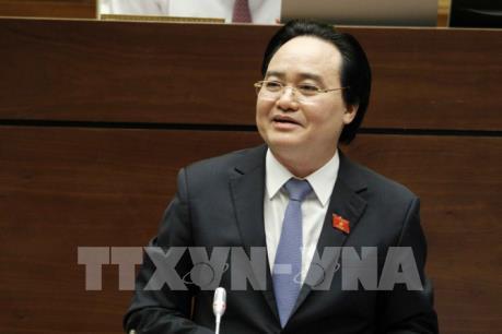 Bộ trưởng Phùng Xuân Nhạ nhận trách nhiệm về xảy ra tiêu cực trong kỳ thi THPT quốc gia