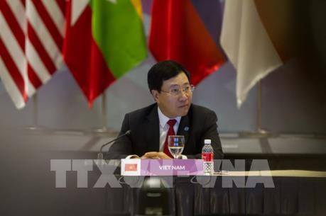 """Phó Thủ tướng Phạm Bình Minh đề nghị EU sớm gỡ bỏ """"thẻ vàng"""" đối với Việt Nam"""