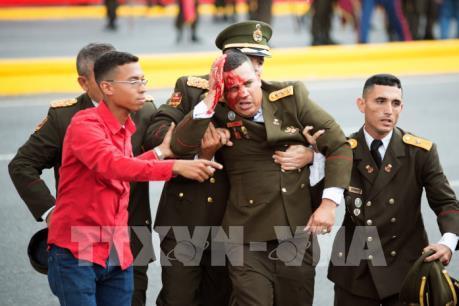 Nổ tại sự kiện có mặt Tổng thống Venezuela