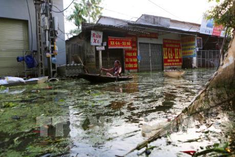 Hà Nội chủ động di dời dân khỏi vũng trũng, thấp gần sông Bùi và sông Tích