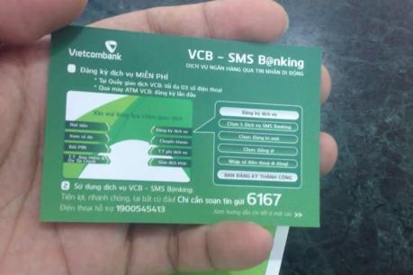 Vietcombank mở rộng tính năng nhắn tin miễn phí số dư tài khoản tiết kiệm