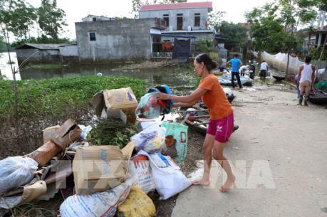 Hà Nội không để xảy ra dịch bệnh tại các vùng ngập lụt