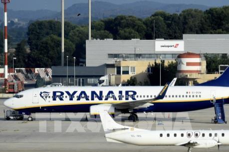 Ryanair hủy hàng trăm chuyến bay do đình công tại Đức