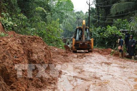 Mưa lũ và lở đất ở miền Nam Ấn Độ khiến hơn 20 người thiệt mạng