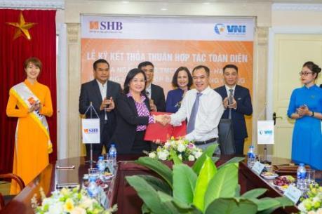 SHB ký hợp tác toàn diện với Bảo hiểm Hàng không VNI