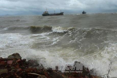 Áp thấp nhiệt đới gây gió giật cấp 9 trên biển  và mưa to ở Bắc Bộ và Bắc Trung Bộ