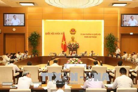Bộ trưởng Tô Lâm trả lời chất vấn tại phiên họp của Ủy ban Thường vụ Quốc hội