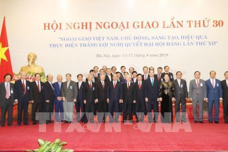 Tổng Bí thư Nguyễn Phú Trọng: Cần tiếp tục đổi mới tư duy trong công tác đối ngoại