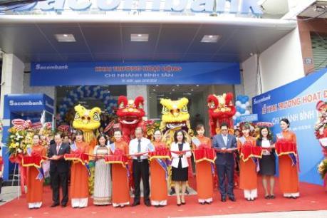 Sacombank Bình Tân chính thức đi vào hoạt động