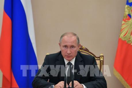 Tổng thống Putin chưa ra lệnh đáp trả lệnh trừng phạt mới của Mỹ