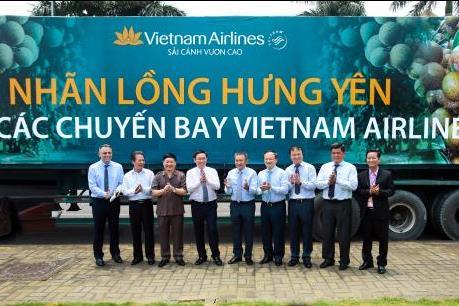 Từ 15/8, Vietnam Airlines đưa đặc sản nhãn lồng Hưng Yên lên các chuyến bay